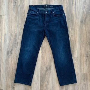 33x28.5 EUC 7 For All Mankind Austyn Luxe